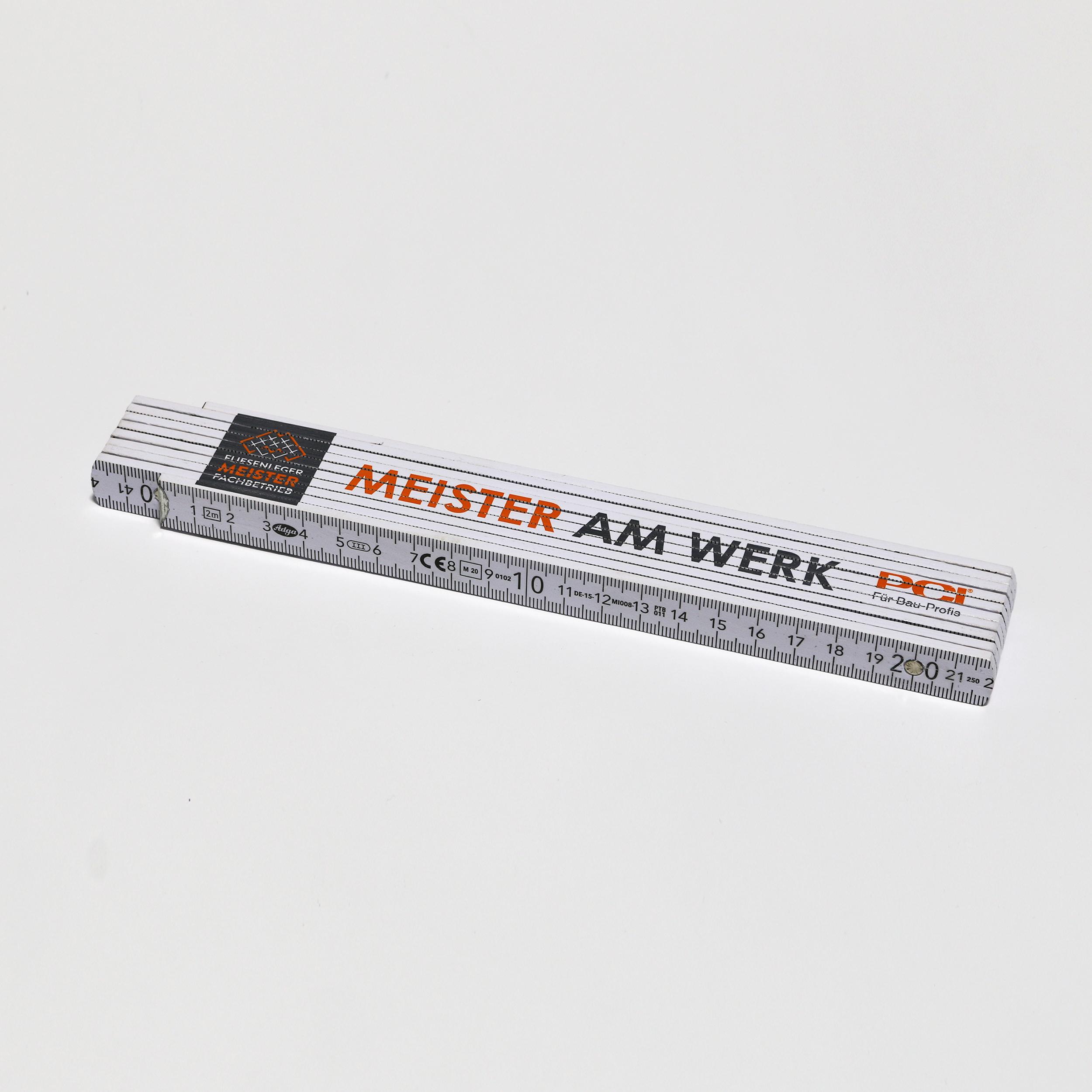 Meister-Maßstab von ADGA, 90°-Raster